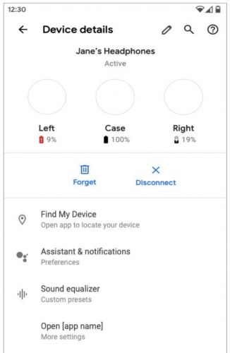 Android Q Will Offer Up More Detailed Battery Information On Your Headphones