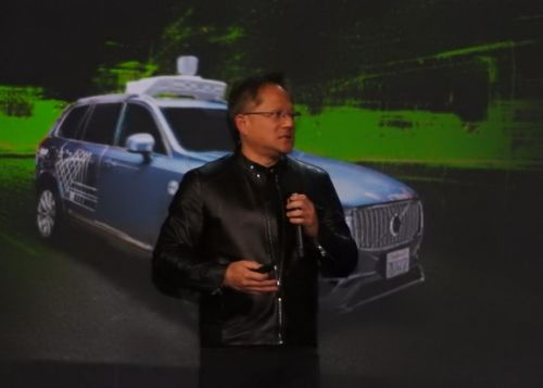 Nvidia CEO: Self-driving cars will be on the road in 2020