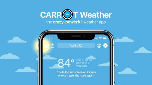Carrot Weather for iOS updated with hurricane tracker notifications, much more