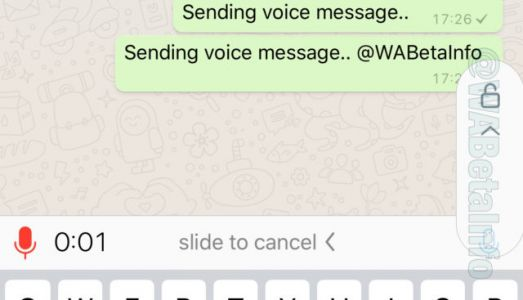 WhatsApp May Let You Send Voice Notes Without Holding The Button