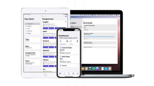 'School Assistant' is a universal app to help students manage their school tasks