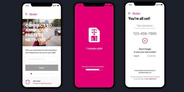 T-Mobile launches initial eSIM support for iPhone XS, XS Max, XR