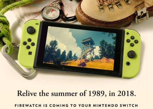 Awesome Indie Game Firewatch Landing On Nintendo Switch
