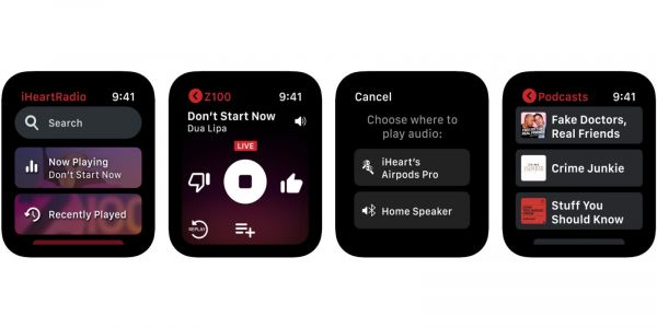 IHeartRadio debuts new standalone Apple Watch app with streaming support and more