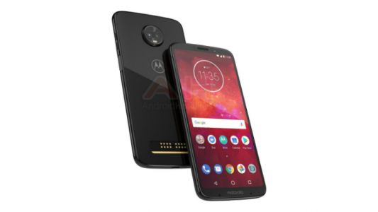 Alleged Moto Z3 Play render hints at side-mounted fingerprint sensor and a bigger display