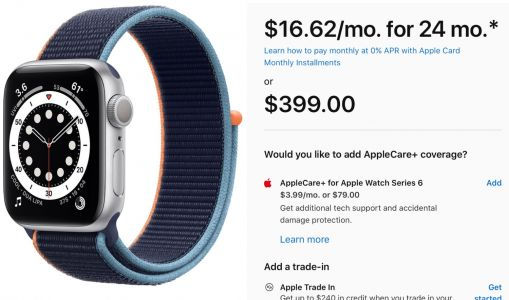Apple Watch Now Eligible for Apple Card Monthly Installments