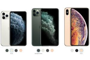 Apple iPhone 11 Pro vs XS Max differences comparison