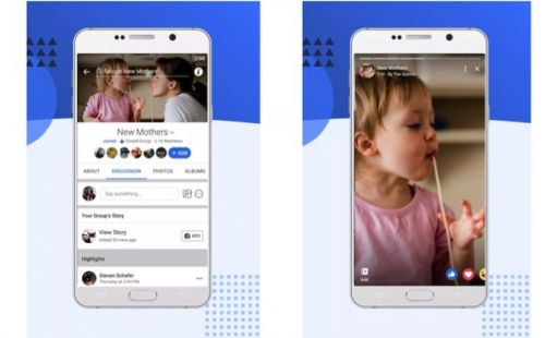 Facebook Expands Stories To Groups