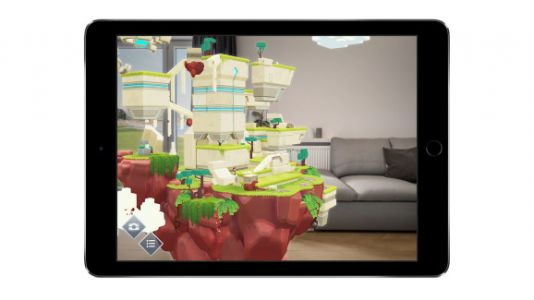 IOS's early AR games play with perspective and pigeons