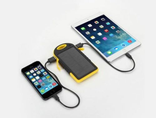 Deals: Universal Waterproof Solar Charger