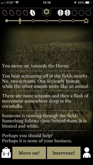 'Incoboto' Developer Fluttermind Releases Text-Based Horror Game 'The Horns'