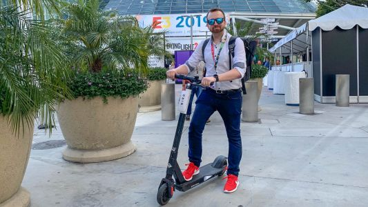 I rode an electric scooter to E3 2019 every day and it was my favorite 'game'