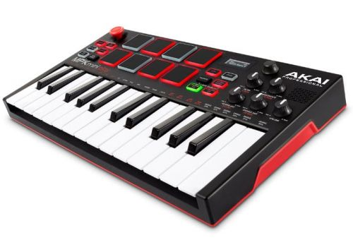 AKAI MPK Mini Play portable battery synthesiser and beat machine