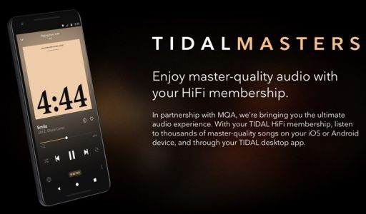 Tidal's iOS App Gains Masters Quality Audio Support