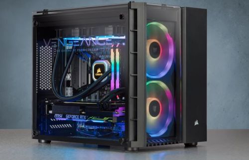Corsair's Vengeance 5185 PC: Core i7-9700K + GeForce RTX 2080, and Lots of RGB