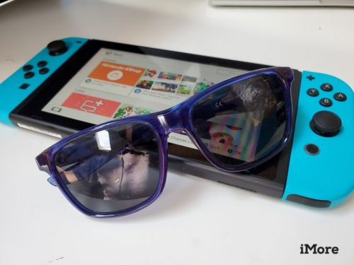 Taking your new Switch outside? Leave your polarized sunglasses behind