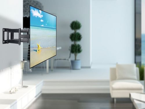 The $24 Lumsing TV wall mount lets you watch your favorite shows from any angle