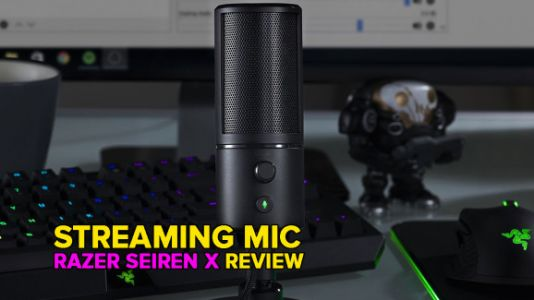 Razer's Seiren X USB mic is small and easy to use while streaming
