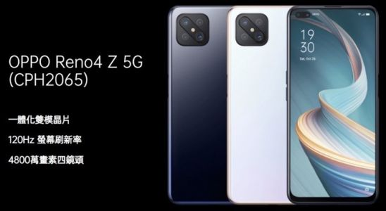 Oppo Reno4 Z 5G smartphone gets official
