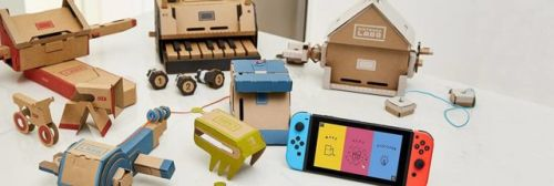 Nintendo's Labo Kits For The Switch Now Available For Pre-Order