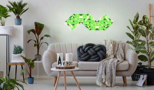 LaMetric takes on Nanoleaf with new Sky wall lighting panels at CES 2019