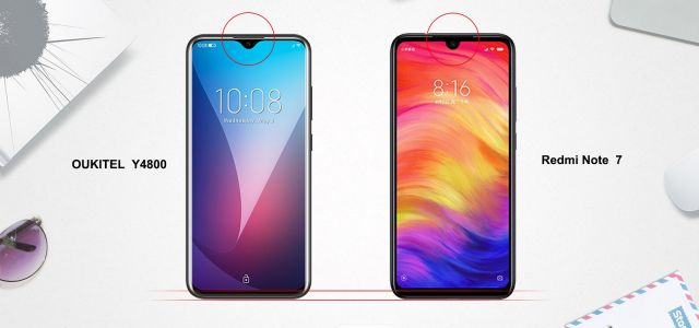 OUKITEL Y4800 Gets Compared To The Xiaomi Redmi Note 7: Video
