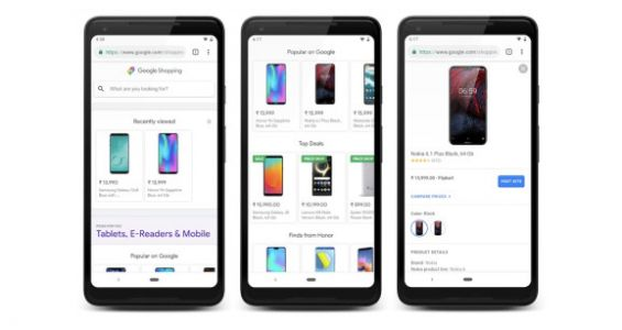Google Shopping launches in India