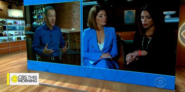 Jeff Williams and Dr. Sumbul Desai explain latest Apple Watch heart features on 'CBS This Morning'
