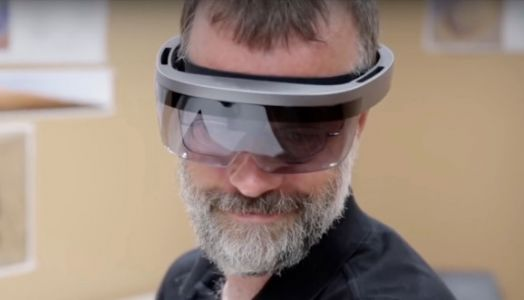 Is this Microsoft's HoloLens 2?