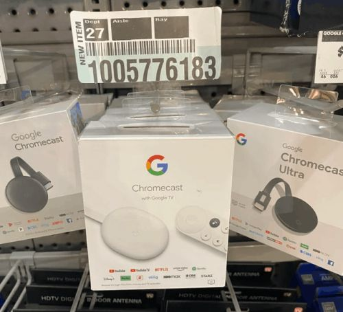 Home Depot Is Also Selling The New Chromecast TV Before It Is Announced