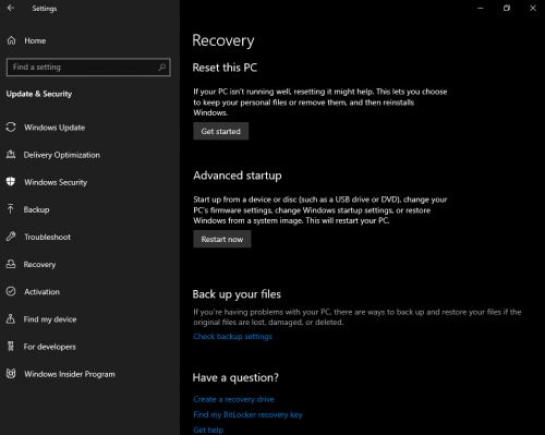 Microsoft releases Windows 10 19H1 Build 18312