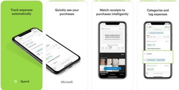 Microsoft Launches 'Spend' Expense Tracker For iOS