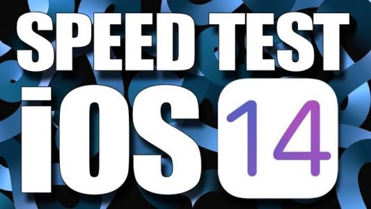 IOS 14 vs iOS 13.7 speed test