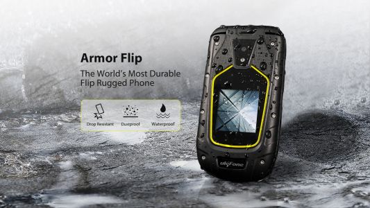 Ulefone Armor Flip Rugged Flip Phone Launching Later This Month