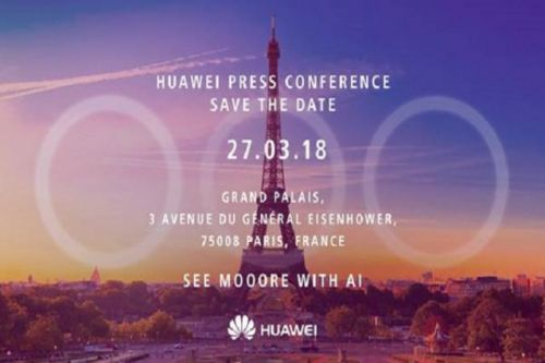 Huawei sends out invites for P20 event, hints at 3 camera setup