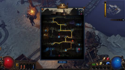Path of Exile's next Challenge League is Delve, an infinite dungeon launching August 31