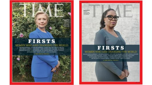 Time Magazine exclusively uses iPhone to photograph portraits for 'Women Firsts' special project