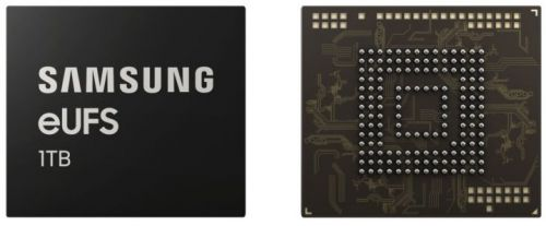 Terabyte smartphones are coming, thanks to new Samsung storage chip