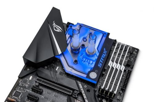 EKWB Releases Its First X470 Series Monoblock for ASUS ROG Strix X470-F Gaming