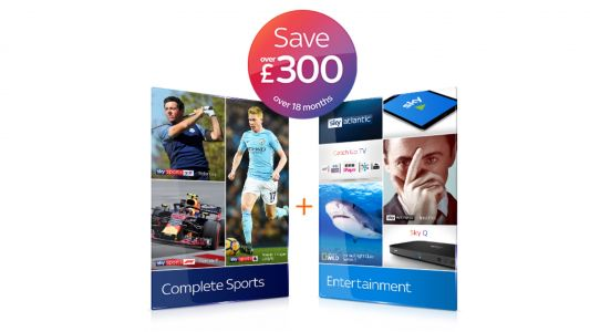 Save over £300 on this Sky TV deal with the best of TV and Sky Sports - all in HD