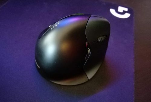 Evoluent's VerticalMouse 4 has everything you need without the twist