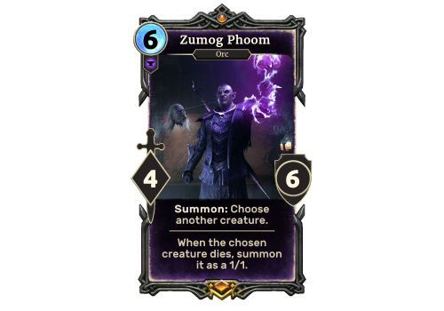 'The Elder Scrolls: Legends' Moons of Elsweyr Exclusive Card Reveal - Say Hello to Zumog Phoom