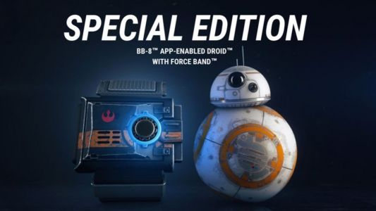 The original BB-8 droid is now $20 off and comes with a free Force Band