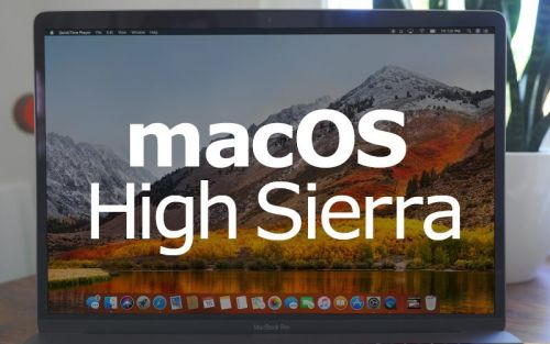 MacOS High Sierra Will Be Released on September 25
