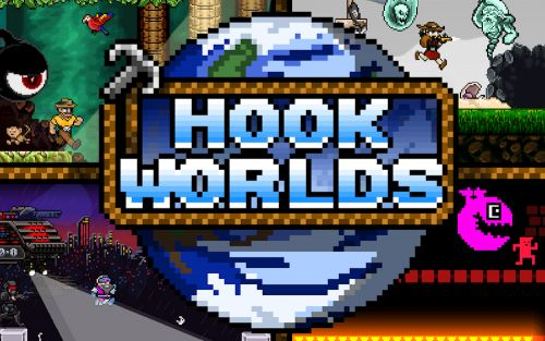 Rocketcat's 'Hook Worlds' is Now Available in GameClub's Early Access Program