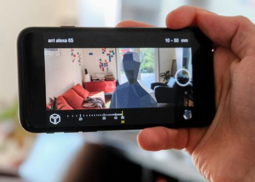 Blocker Augmented Reality App For Film Makers