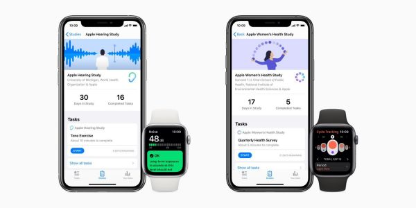 Apple Research app adds AirPods Pro support for Hearing Study, watchOS battery improvements