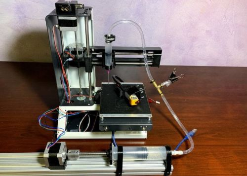 Affordable desktop bioprinting machine made from 3D printer