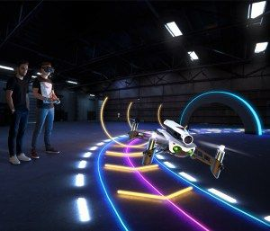 Parrot Mambo FPV brings drone racing home