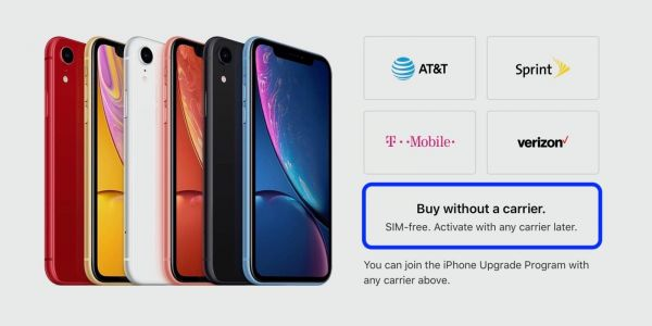 IPhone XR SIM-free now available from Apple in store and online